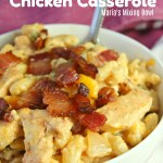 Cheesy Crack Chicken Casserole