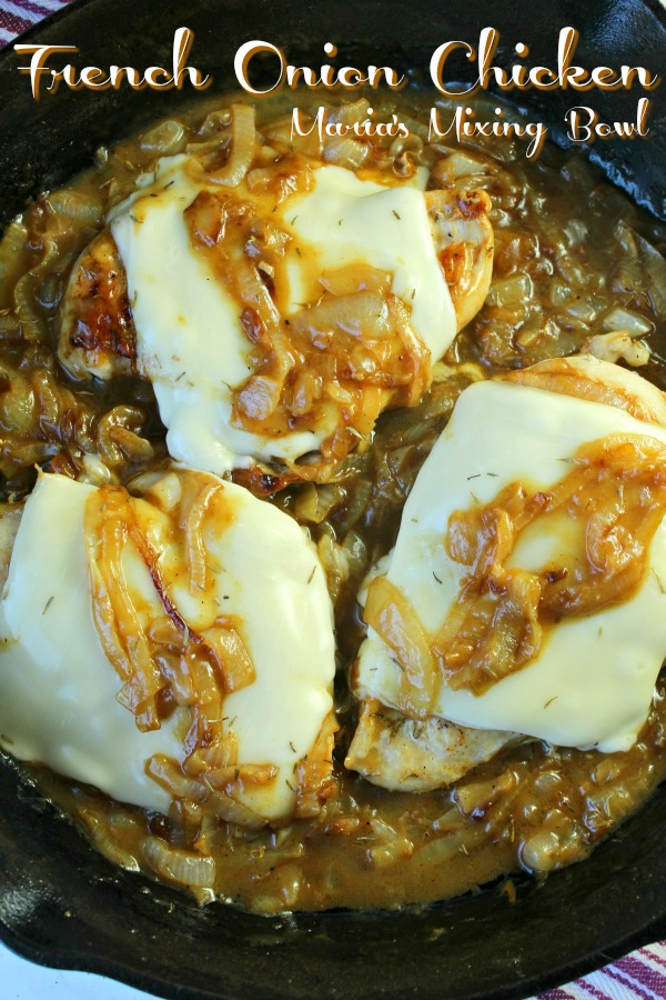 Deluxe French Onion Chicken