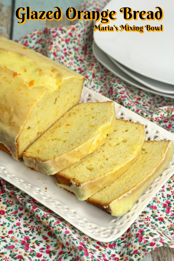 Orange Glazed Bread
