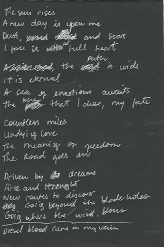 Lyrics for Nasty Roar - page 1