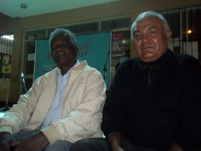 Lipe Vente y Jorge Gamboa