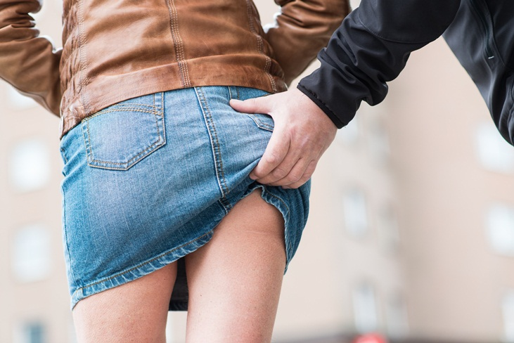 sexueller übergriff auf der straße