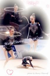Maria Titova the Swan-Photo Collage-Hoop 2013
