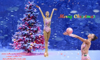 Maria Titova the Swan-Wall-Merry Christmas 2014-03