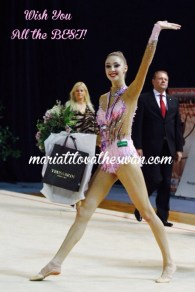 Maria Titova the Swan-Wish You All the BEST