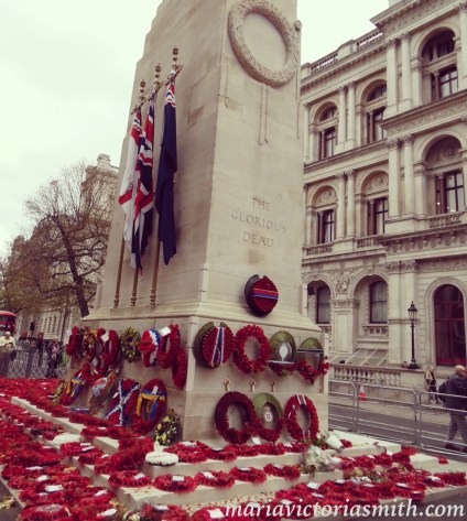 The Cenotaph on Remembrance Day 2015