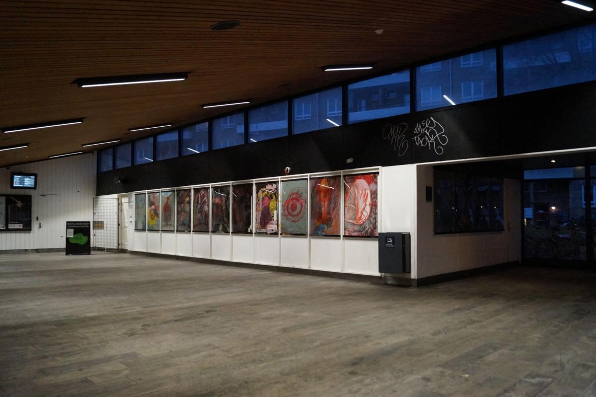 Sydhavn Station – Gå din vej Maria