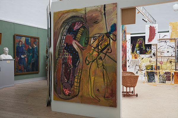 retrospective solo exhibition, vejen art museum