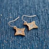 Everlasting Light - North Star Earrings