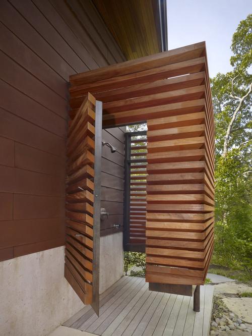 Modern Design Inspiration Outdoor Shower Ideas Studio MM Architect