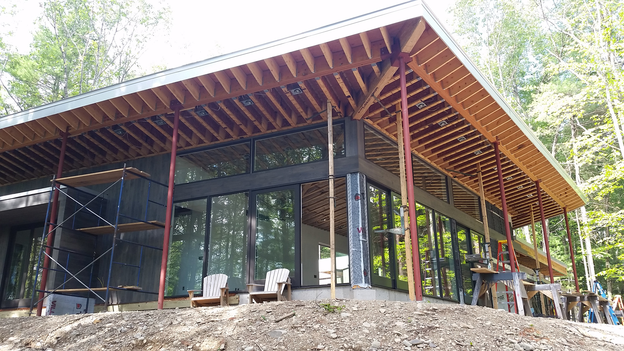 Modern Home Construction Update Lantern House
