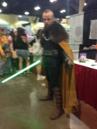 Jedi Viking. Too bad it came out blurry.