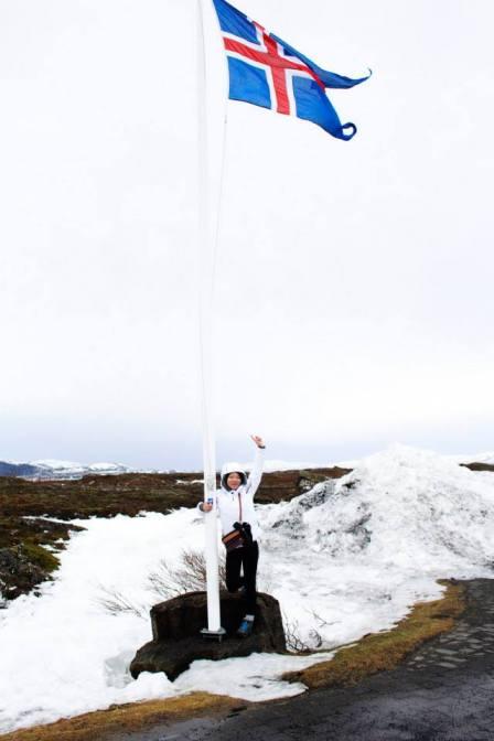Reykjavik, Iceland - walking on the glacier
