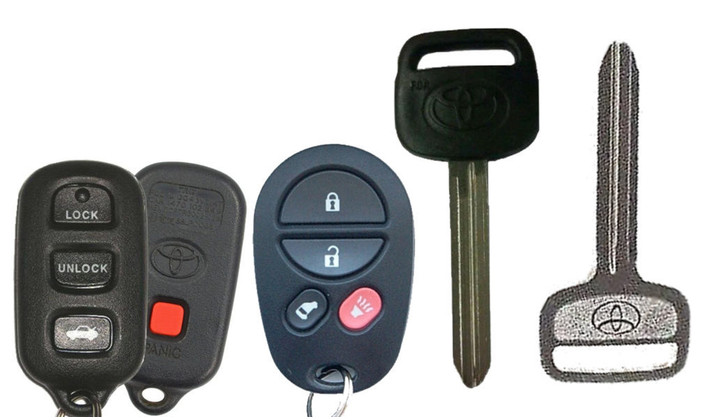 Old Cheap Toyota Key