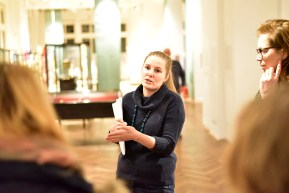 Viktoria Calvo-Tomek, MAK-Ausstellungsorganisation