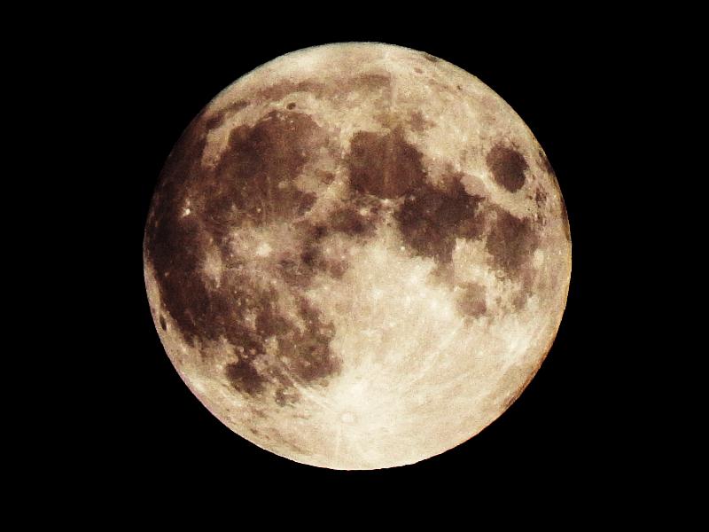 Foto Mond, Moon, Deutschland, Germany