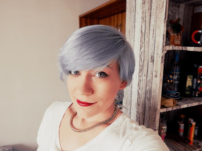 Haare färben directions graue Graue Haare
