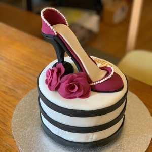 Shoe Cake Delivered