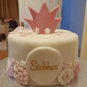 Personalised Princess Birthday Cake Marie Makes Version 2