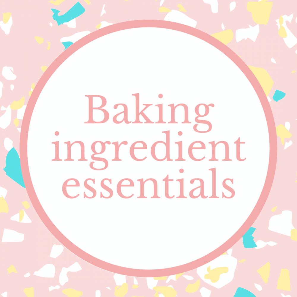Baking Ingredient Essentials Marie Makes Milton Keynes