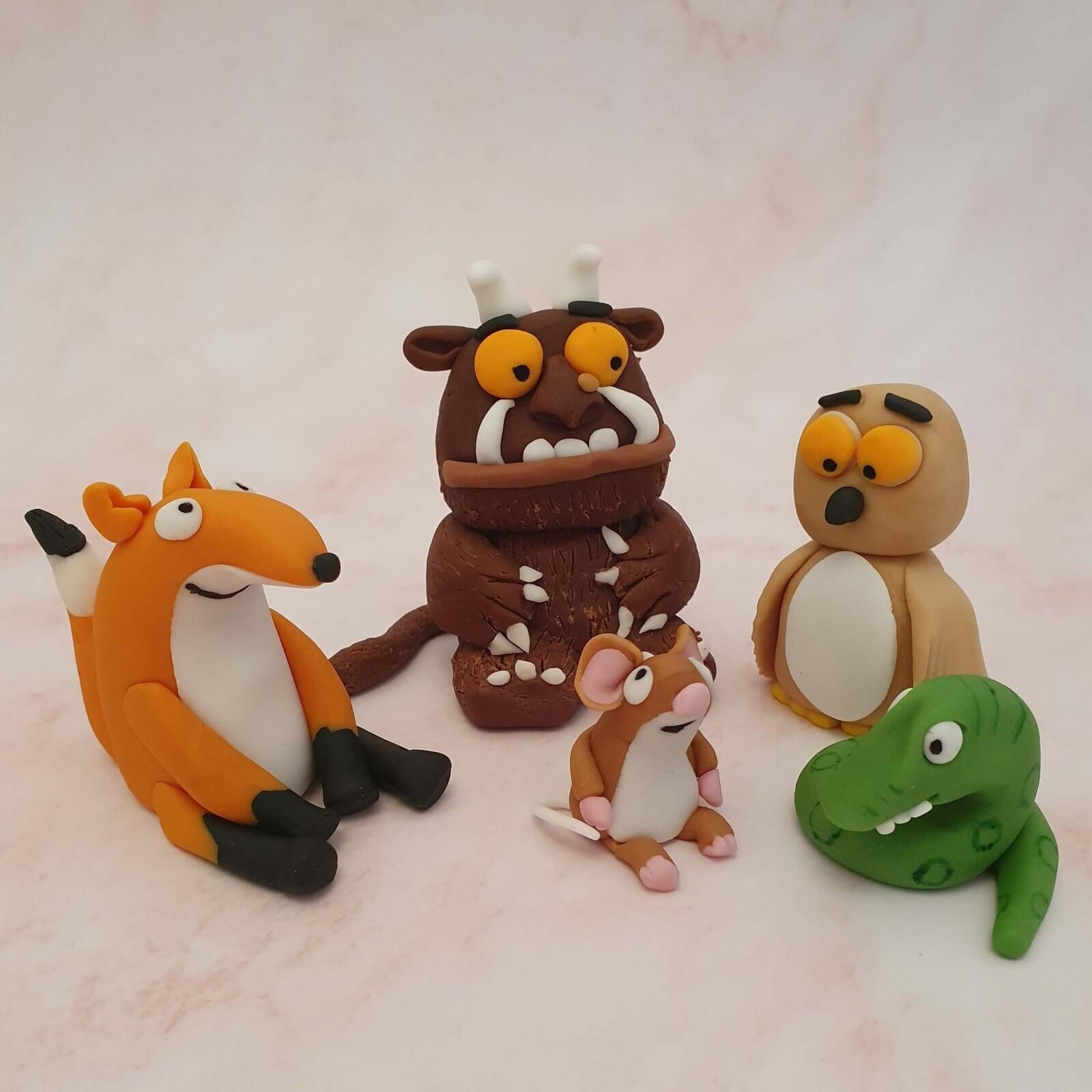 Gruffalo Childrens Birthday Cake Characters Marie Makes Milton Keynes