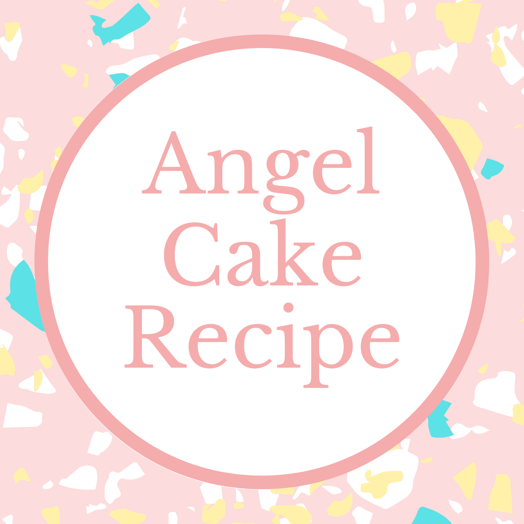 Angel Cake Recipe Marie Makes