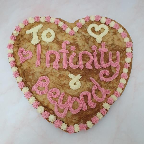 Personalised Giant Celebration Cookie
