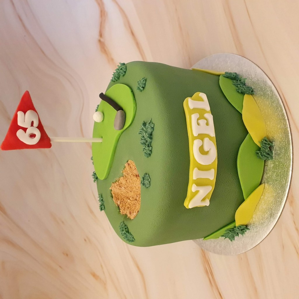 Golf cake ideas for men