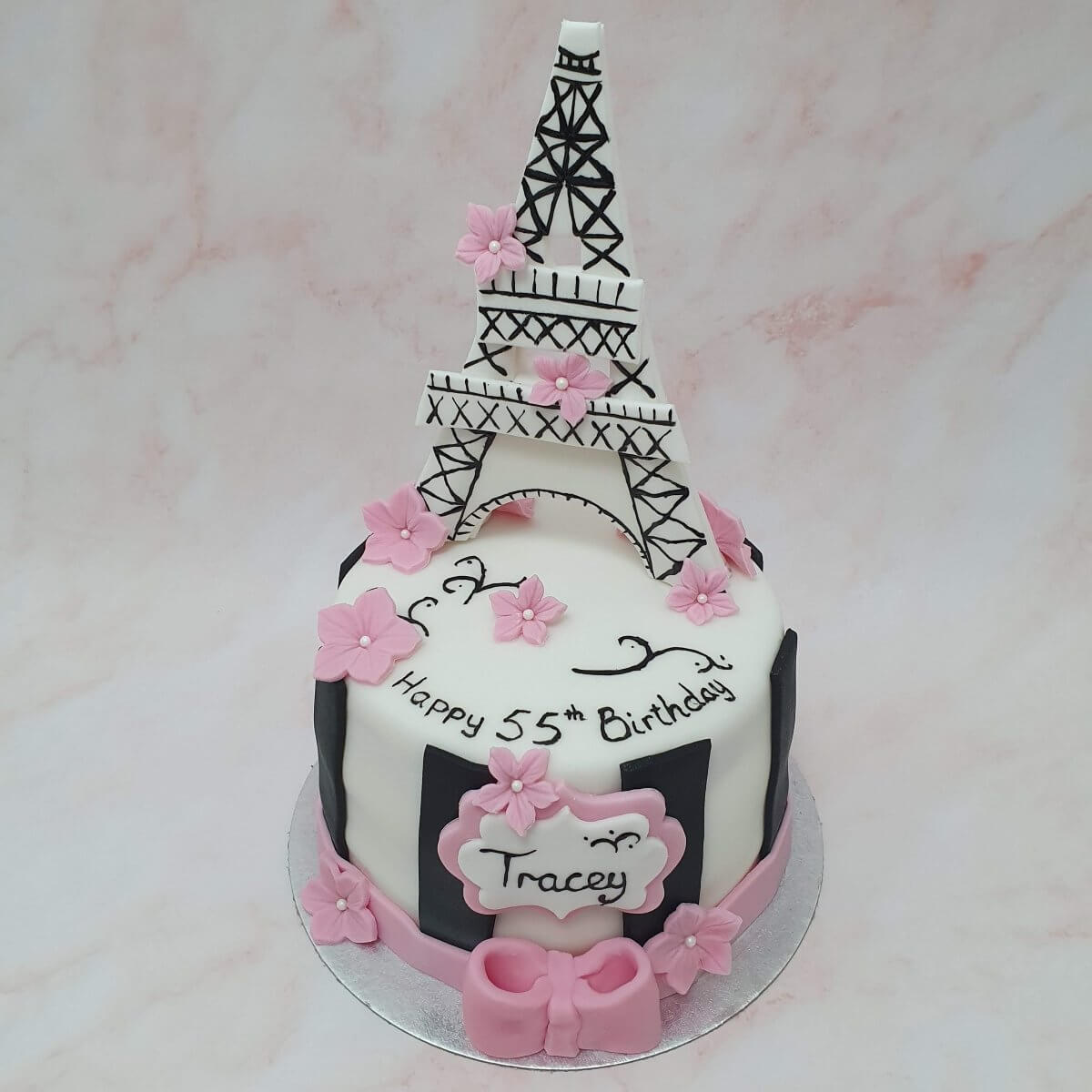 Paris Birthday Cake Delivered Milton Keynes