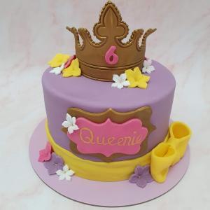Princess Children's Birthday Cake Maker Milton Keynes