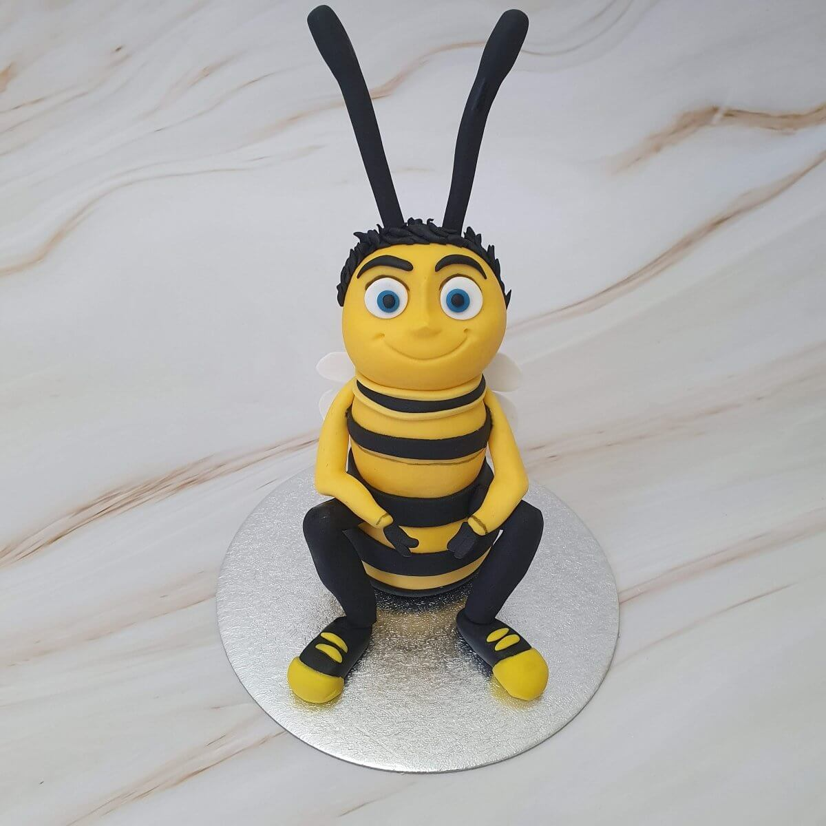 The Bee Movie Barry The Bee Handmade Edible Cake Topper