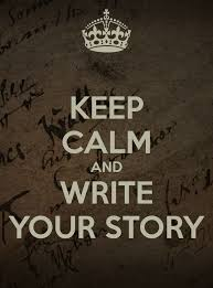Keep calm and carry-on writing