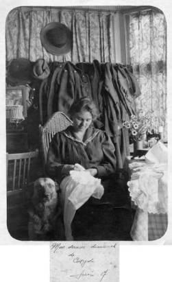 Grand-mère-Coxyde-juin-1917