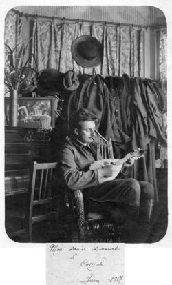 Mon Grand-père-Coxyde-juin-1917