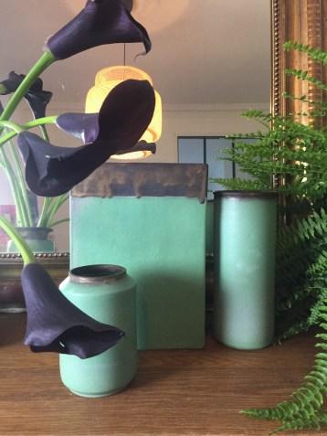 ambiance vases collection vert antique mariecarolinelemansceramique