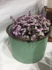 pot vert et fleurs, mariecarolinelemansceramique