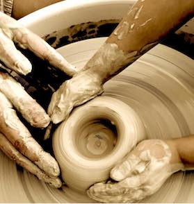 stage de poterie-tournage