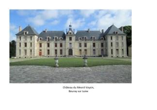 vue du château de Mesnil Voysin