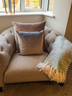 Springfields Show Homes Decor Space designed by Marie Charnley Interiors