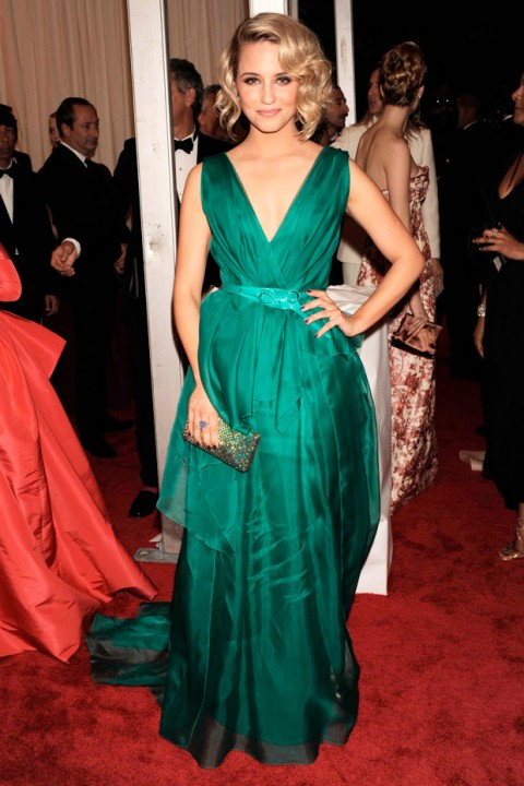 Dianna Agron at the Met Ball 2012 - Costume Institute Gala - Marie Claire