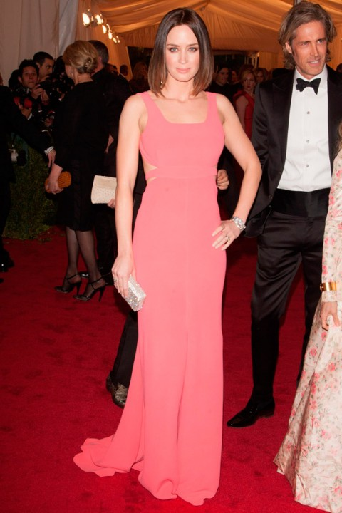 Emily Blunt at the Met Ball 2012 - Costume Institute Gala - Marie Claire