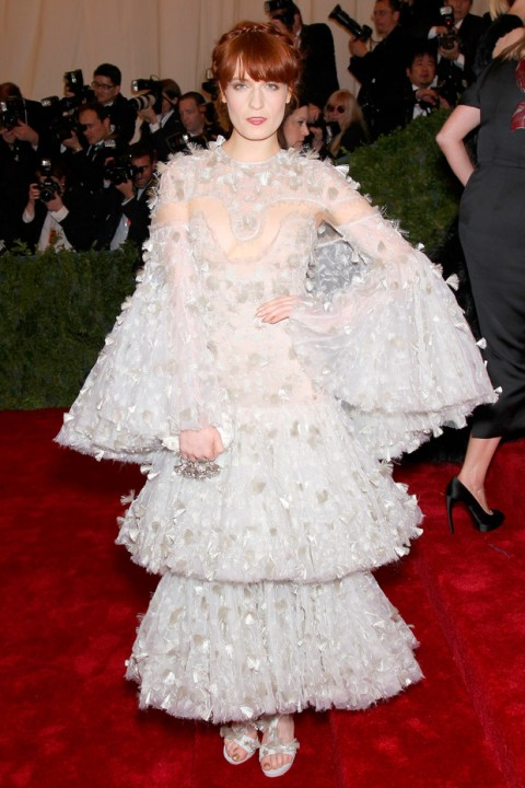 Florence Welch at the Met Ball 2012 - Costume Institute Gala - Marie Claire