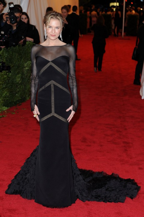 Renee Zellweger at the Met Ball 2012 - Costume Institute Gala - Marie Claire