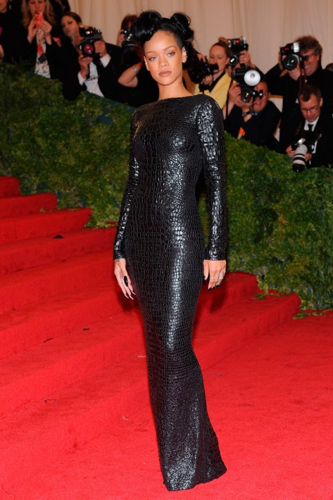 Rihanna at the Met Ball 2012 - Costume Institute Gala - Marie Claire