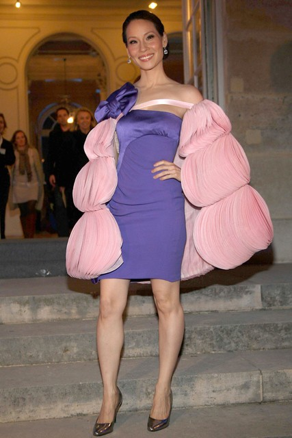 Marie Claire celebrity photos: worst dressed 2008, Lucy Liu