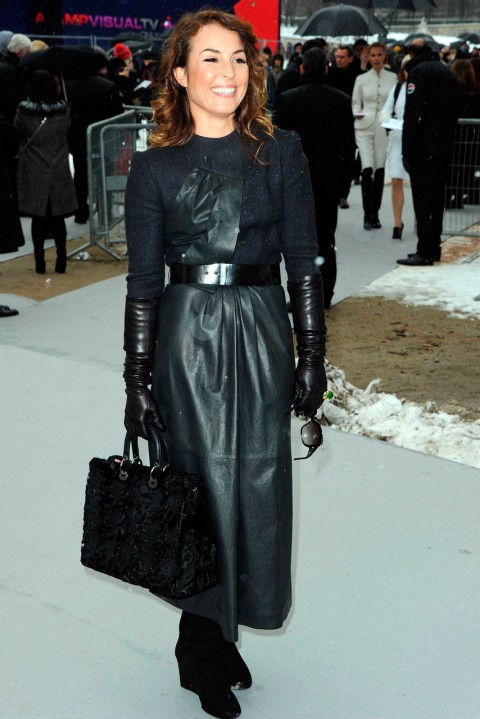 Noomi Rapace at Couture Fashion Week spring/summer 2013 in Paris