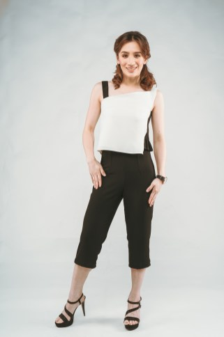 Celina Trousers in Black
