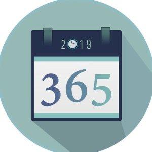 365 wrinting challenge défi bilan 2019