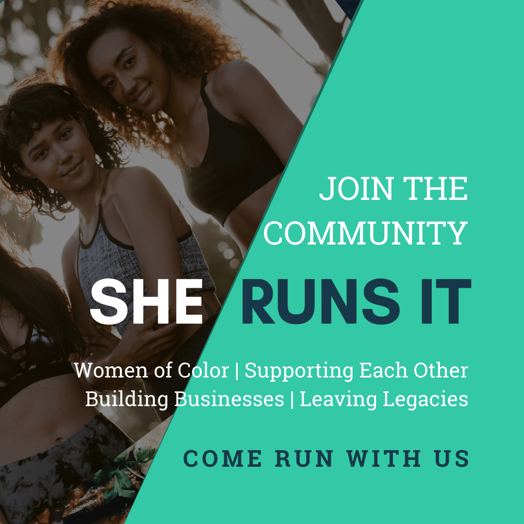She Runs It Join the Community