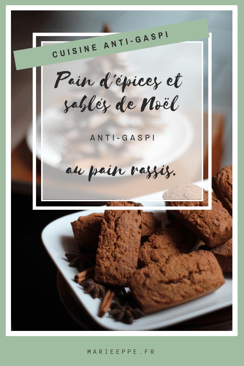 sablés-noël-pain-épices-anti-gaspi-cuisine-zéro-déchet